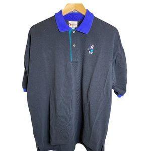 Disney WDW Vintage Mickey Mouse Golf Polo Shirt